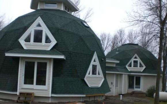 дом купольнгого вида