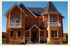 примеры работ кирпичных домов