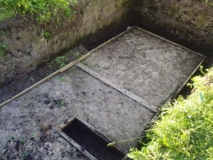 фундамент для погреба