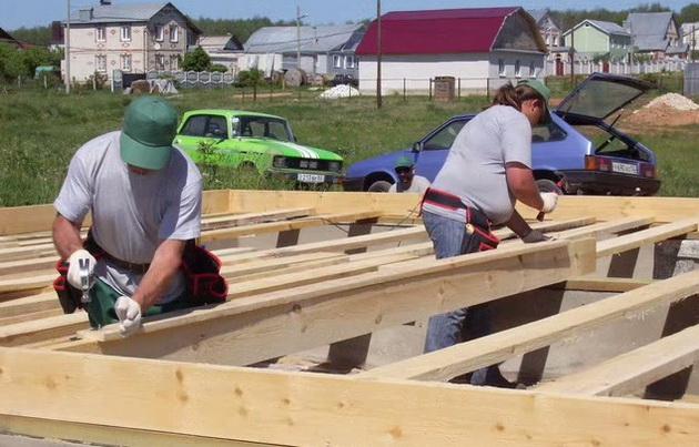 как построить каркасный дом 6х6 своими руками пошаговая инструкция с фото