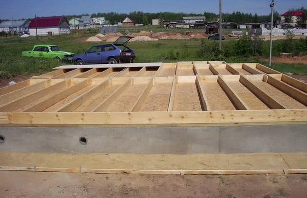 как построить каркасный дом 6х6 своими руками пошаговая инструкция с фото - фото 10