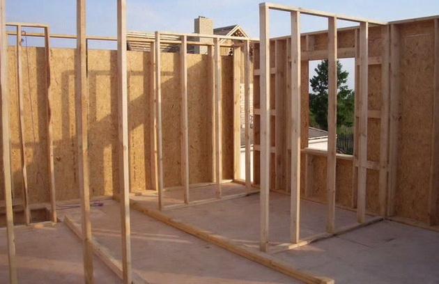Каркасный домик 6х6 своими руками фото