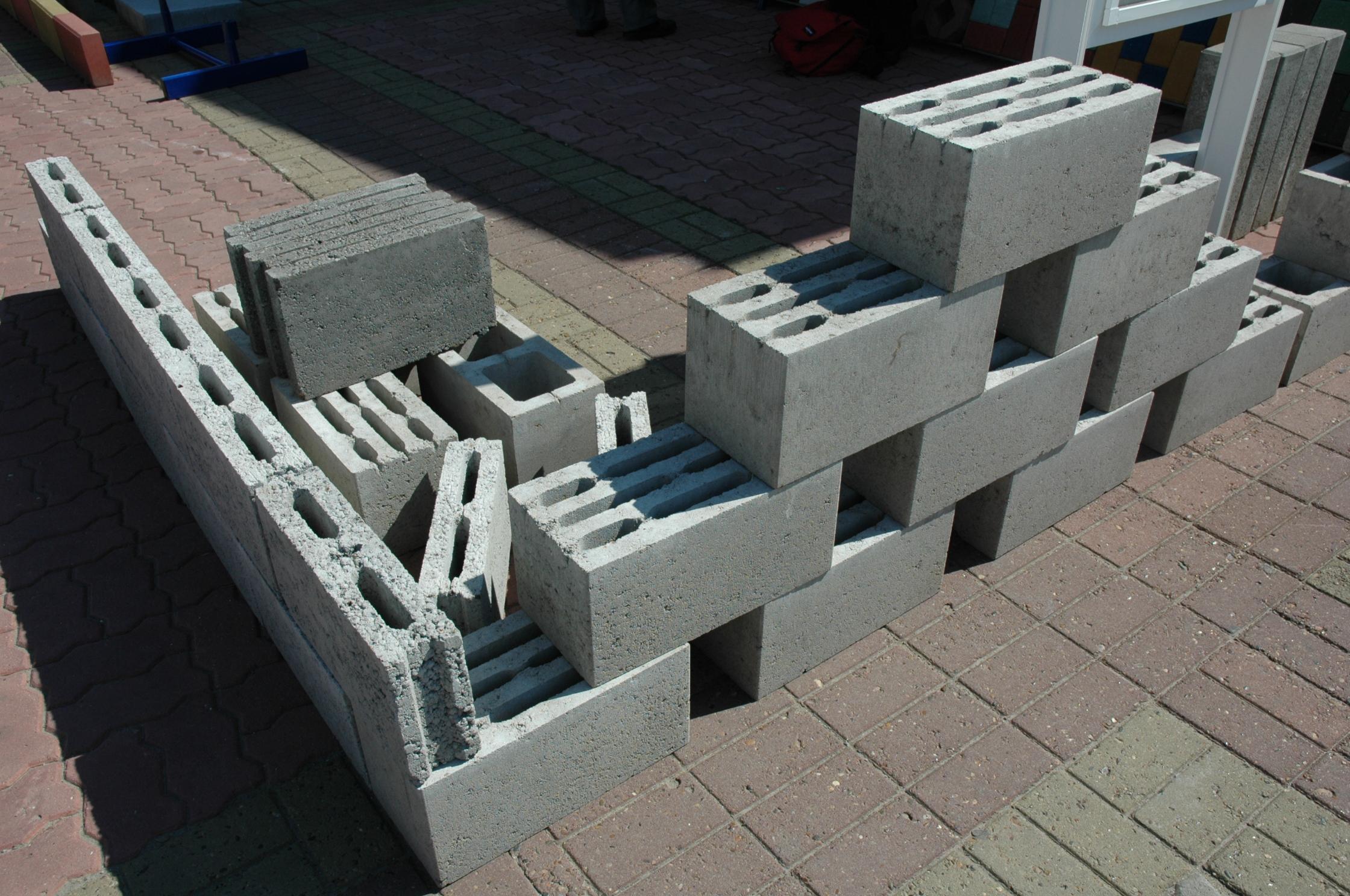 Строительные блоки своими руками фото
