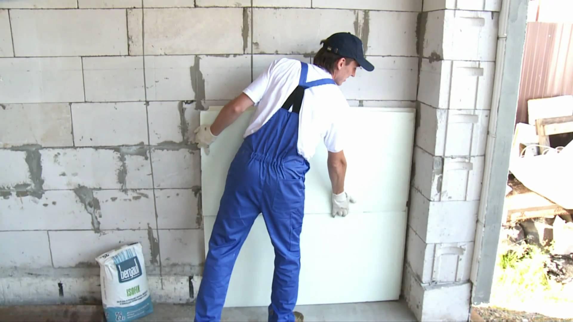 Как утеплить фасад дома пенопластом своими руками