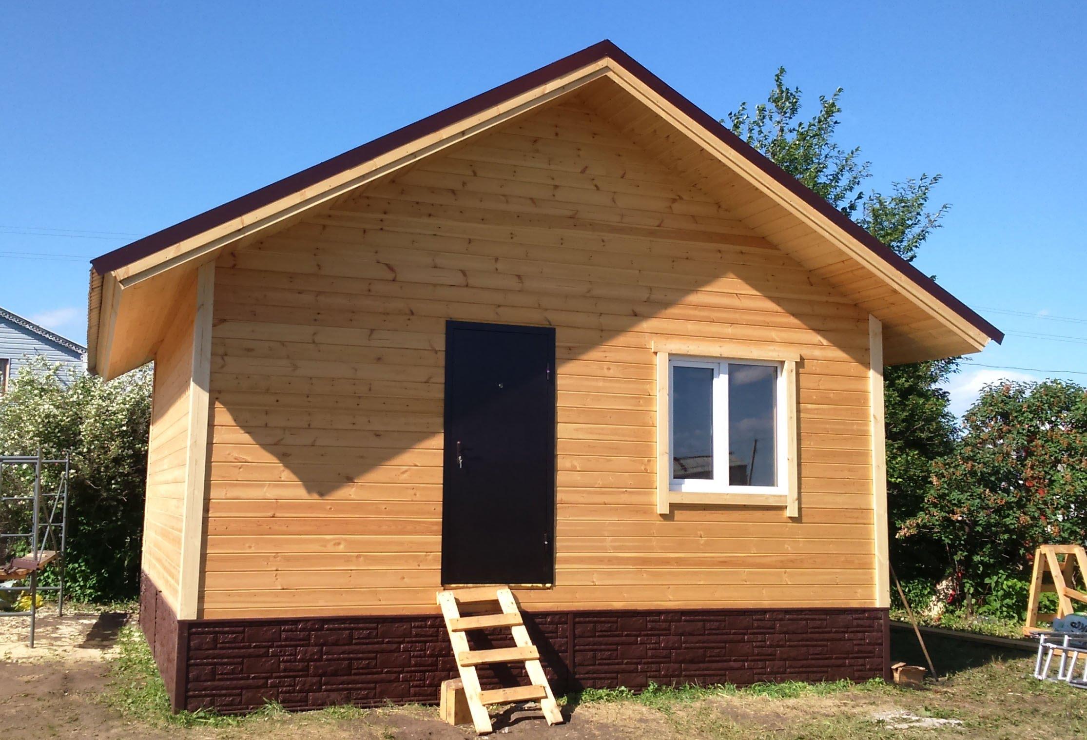 Каркасный дачный домик 6х6 своими руками фото не дорогой