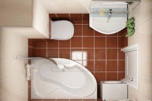 Сантехника для маленьких ванных комнат