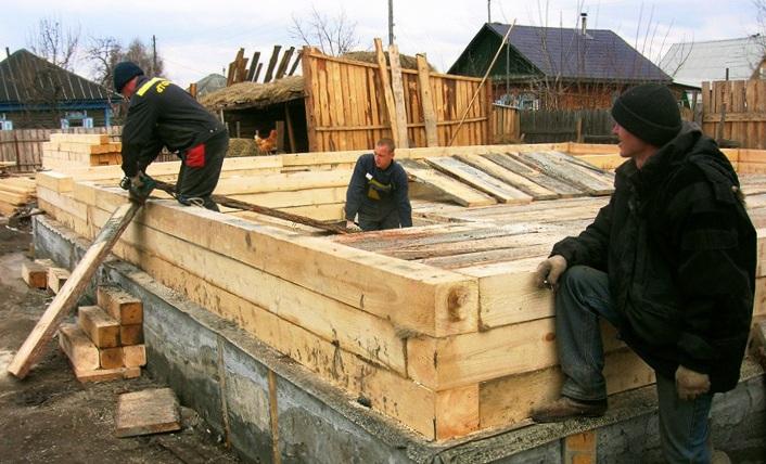 Правильное строительство домов из бруса своими руками