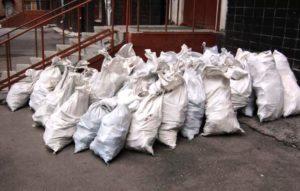 выкинуть строительный мусор