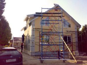 Окпд капитальный ремонт фасада